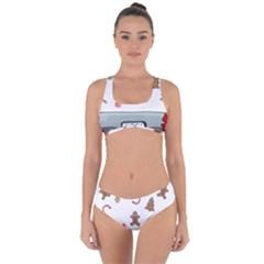 Hilarious Holidays  Criss Cross Bikini Set