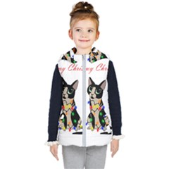 Meowy Christmas Kid s Puffer Vest