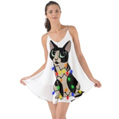 Meowy Christmas Love The Sun Cover Up