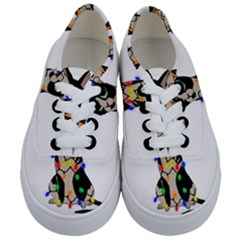 Meowy Christmas Kids  Classic Low Top Sneakers