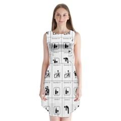 Holidays Sleeveless Chiffon Dress