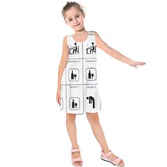 Holidays Kids  Sleeveless Dress