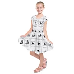 Holidays Kids  Short Sleeve Dress