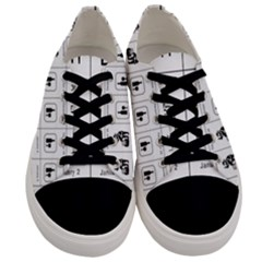 Holidays Men s Low Top Canvas Sneakers