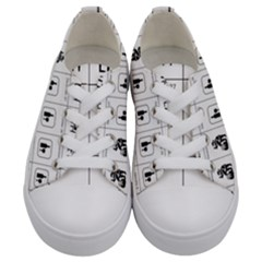 Holidays Kids  Low Top Canvas Sneakers