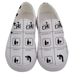 Holidays Men s Canvas Slip Ons
