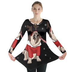 Pug Xmas Long Sleeve Tunic