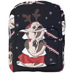 Pug Xmas Full Print Backpack