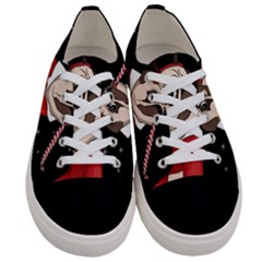 Pug Xmas Women s Low Top Canvas Sneakers