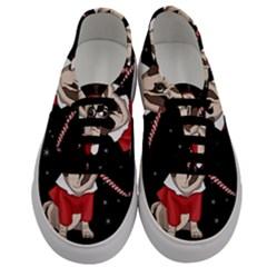 Pug Xmas Men s Classic Low Top Sneakers