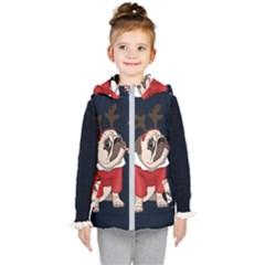 Pug Xmas Kid s Puffer Vest