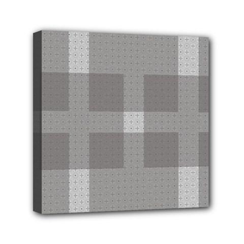Gray Designs Transparency Square Mini Canvas 6  X 6