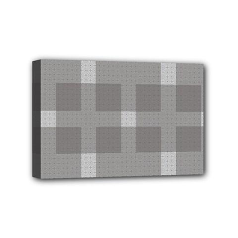 Gray Designs Transparency Square Mini Canvas 6  X 4
