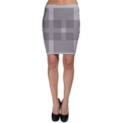 Gray Designs Transparency Square Bodycon Skirt