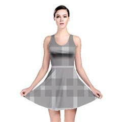 Gray Designs Transparency Square Reversible Skater Dress