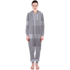 Gray Designs Transparency Square Hooded Jumpsuit (ladies)