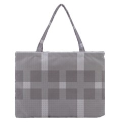 Gray Designs Transparency Square Zipper Medium Tote Bag