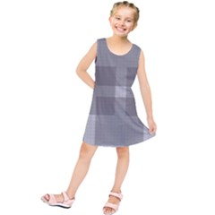 Gray Designs Transparency Square Kids  Tunic Dress