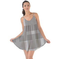 Gray Designs Transparency Square Love The Sun Cover Up