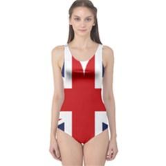 Uk Flag United Kingdom One Piece Swimsuit