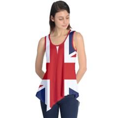 Uk Flag United Kingdom Sleeveless Tunic