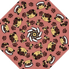 Happy Pugs Hook Handle Umbrellas (medium)