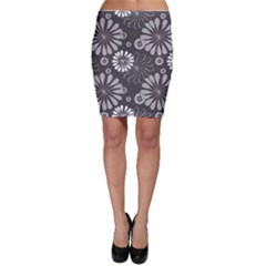 Floral Pattern Floral Background Bodycon Skirt