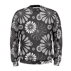 Floral Pattern Floral Background Men s Sweatshirt