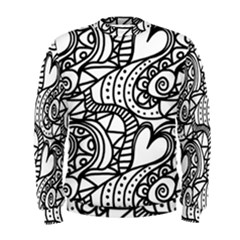 Seamless Tile Background Abstract Men s Sweatshirt
