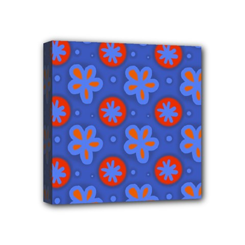Seamless Tile Repeat Pattern Mini Canvas 4  X 4