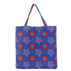 Seamless Tile Repeat Pattern Grocery Tote Bag