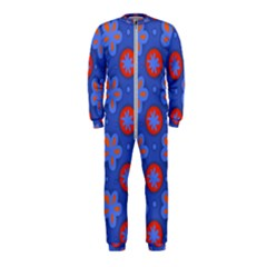 Seamless Tile Repeat Pattern Onepiece Jumpsuit (kids)
