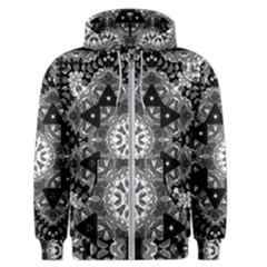 Mandala Calming Coloring Page Men s Zipper Hoodie