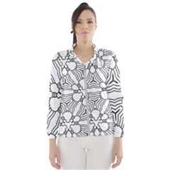 Pattern Design Pretty Cool Art Wind Breaker (women)