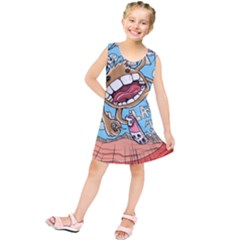 Illustration Characters Comics Draw Kids  Tunic Dress
