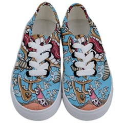 Illustration Characters Comics Draw Kids  Classic Low Top Sneakers