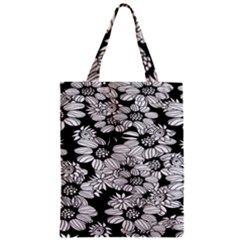 Mandala Calming Coloring Page Zipper Classic Tote Bag