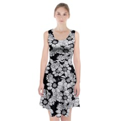 Mandala Calming Coloring Page Racerback Midi Dress