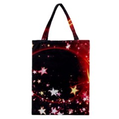 Circle Lines Wave Star Abstract Classic Tote Bag