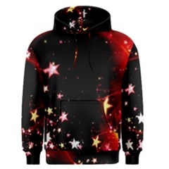Circle Lines Wave Star Abstract Men s Pullover Hoodie