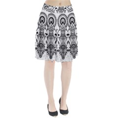 Ancient Parade Ancient Civilization Pleated Skirt