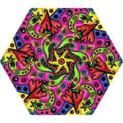 Seamless Texture Pattern Tile Mini Folding Umbrellas