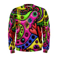 Seamless Texture Pattern Tile Men s Sweatshirt