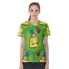Seamless Repeating Tiling Tileable Women s Cotton Tee