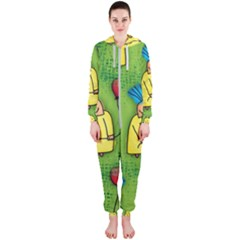 Seamless Repeating Tiling Tileable Hooded Jumpsuit (ladies)
