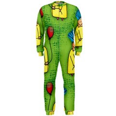 Seamless Repeating Tiling Tileable Onepiece Jumpsuit (men)