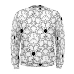 Pattern Zentangle Handdrawn Design Men s Sweatshirt