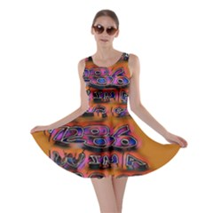 Words Skater Dress