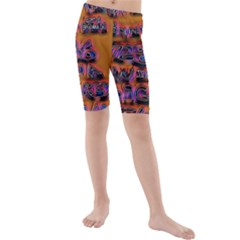 Words Kids  Mid Length Swim Shorts
