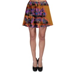 Words Skater Skirt